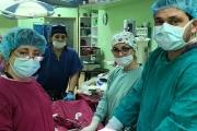 Гинеколози извадиха 18-килограмов тумор