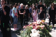 Майки от 10 града на протест срещу убийствата на пътя