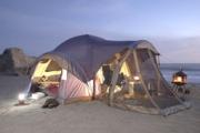 Спането в палатка бори безсънието