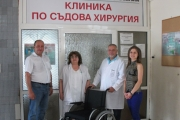 "Дариха инвалидни колички за 4 клиники в УМБАЛ ""Проф. д-р Стоян Киркович"""