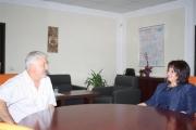 Областният управител на Стара Загора се срещна с болничен шеф