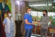 """Болница """"Тракия"""" с награда """"Добрият самарянин"""" за борбата с Covid-19"""