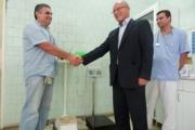 Електронна везна дари ГЕРБ на отделение по хемодиализа