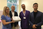 ГЕРБ – Стара Загора с дарение за Клиниката по акушерство и гинекология на Университетската болница