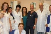 Старозагорски студенти трупаха практически опит в отделение по съдова хирургия