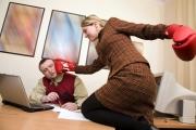 Работата с трудни клиенти е най-честият риск на работното място